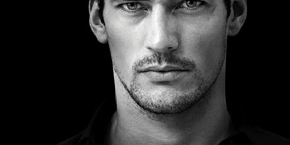 David Gandy, one of the World's most renown professional male model